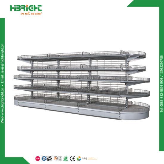 Supermarket Shelf Metal Display Rack Display Shelf
