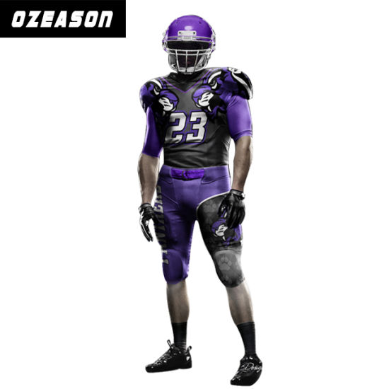 08dae8ff3a3 Wholesale Custom Blank American Football Shirt / Uniform for Men pictures &  photos