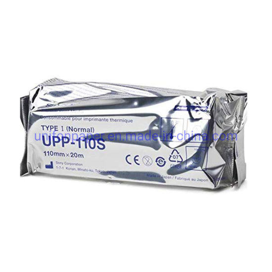 USG Thermal Printer Paper Roll Ultrasound Paper Upp-110s for Sony