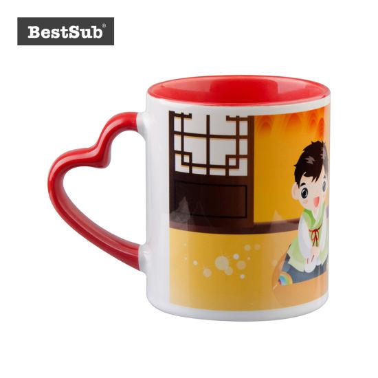China Js Coatings Sublimation Mugs 11 Oz White Mug with