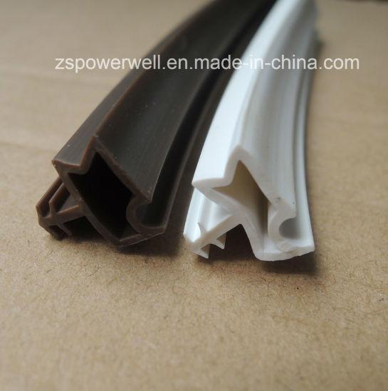 Customized Plastic Extruded PVC Wooden Door Seal Strip