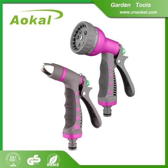 High Pressure Soft Grip Spray Water Best Garden Hose Nozzle