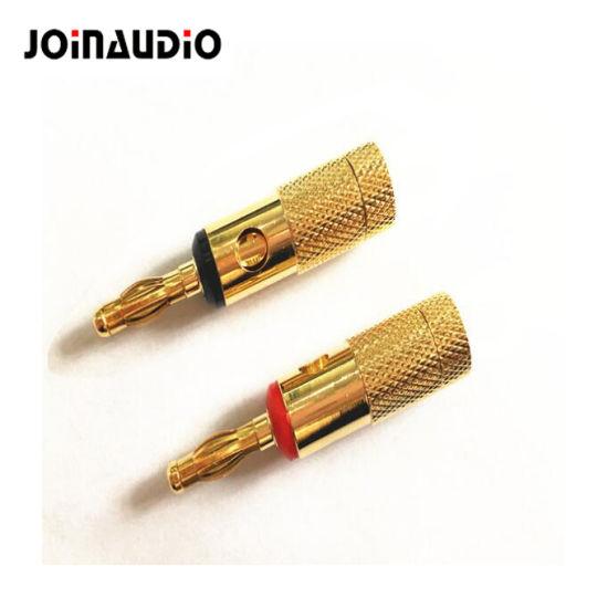 Speaker Terminal Banana Jack Binding Post Connector Gold Plated (1041)