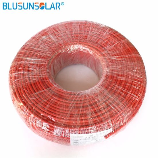 China 1X 6.0 mm TUV/UL 25 Life Time XLPE Solar Cable - China 6mm2 ...