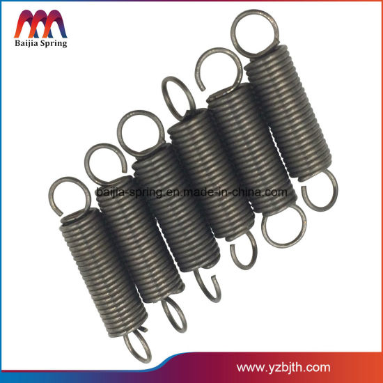 High-Tech Stainless Steel Tension Coil Springs with SGS
