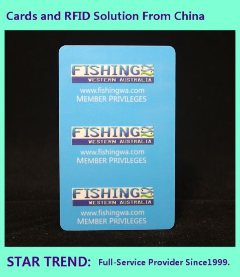 3 in 1 Combo Card Made Plastic with Barcode for Warehouse pictures & photos