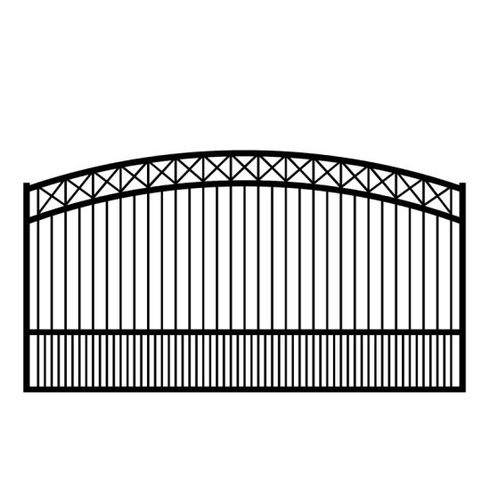 3 Rails Wrought Iron Fence / Cheap Wire Fence/Security Fence Wholesale
