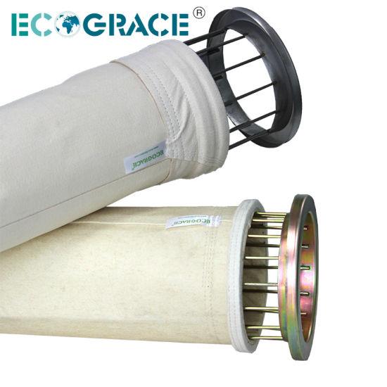 Non Woven Boiler Cement Plant 850GSM Fiberglass Cloth Filter Bags