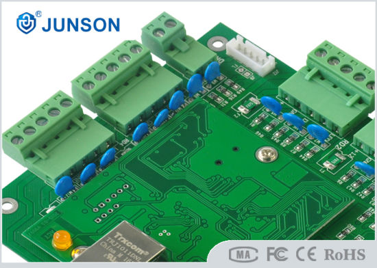Two Door TCP/IP Access Control Panel/Board (JS-8820XP) pictures & photos