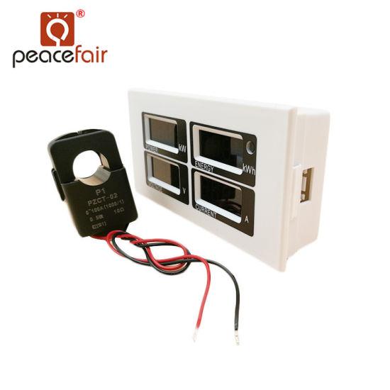 Pzem-004 AC 80-260V 100A Ttl Port LED Electric Energy Meter