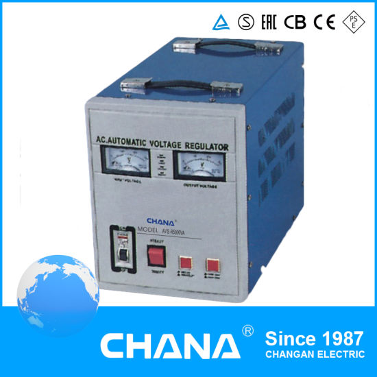 China Household Relay Stabilizer 5kVA Electrical 220V Voltage ...