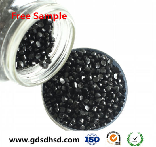 33% Carbon Black Black Color Masterbatch for Injection/Blown Film pictures & photos