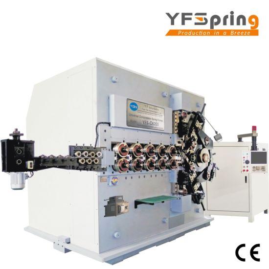China yfspring coilers c6200 6 servos wire diameter 1000 2000 yfspring coilers c6200 6 servos wire diameter 1000 2000 mm coil spring machine greentooth Choice Image