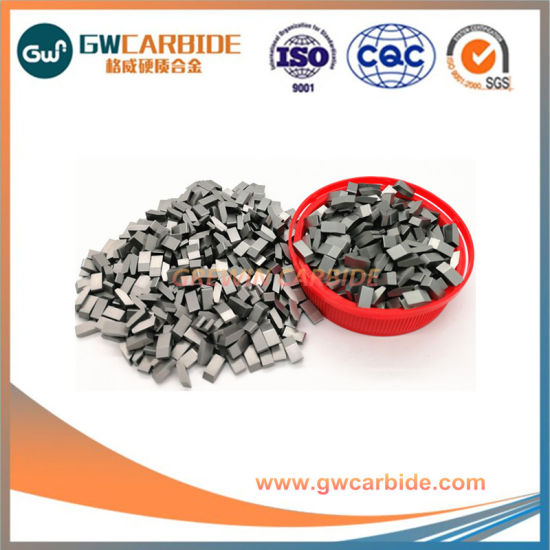 10.5X3.8X3.0 Cutting Wood Tungsten Carbide Band Saw Tips pictures & photos