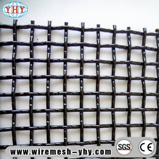 China Heavy Duty Crimped Wire Mesh Screen for Sand Gravel Trommel ...