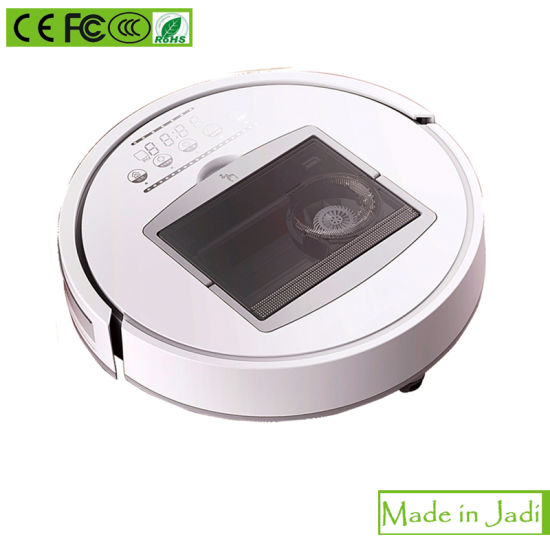Automatic Charging Gyro Navigation 1000ml Dustbin Capacity Robotic Vacuum Cleaner pictures & photos