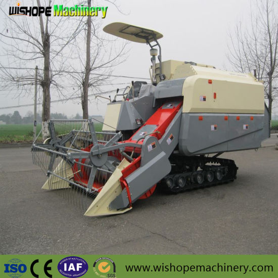 Wishope Wheat Rice Combine Harvester 4lz-4.0 Combine Harvester pictures & photos