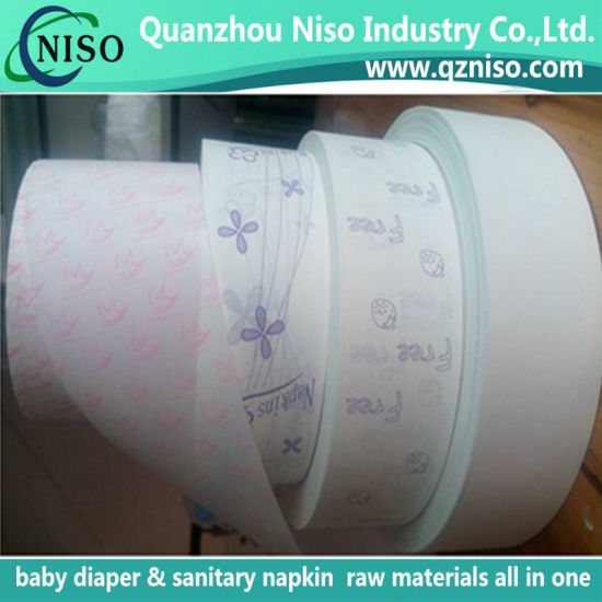 Silicone Coated Release Paper for Sanitary Pads