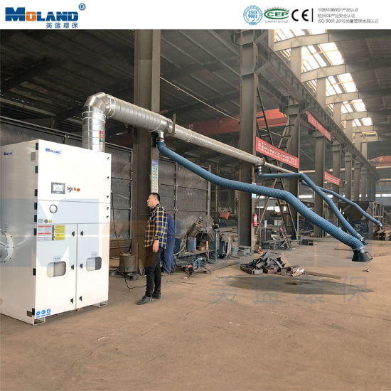 Central Machinery Cartridge Filter Dust Collector for Welding/Grinding/Polishing Central Extraction System