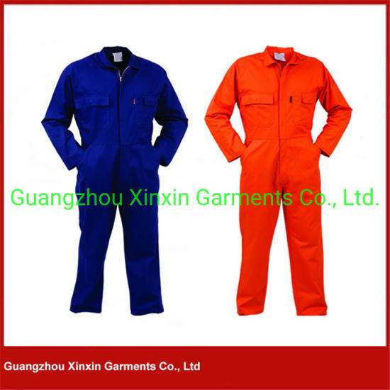 Customized Cotton Twill Unisex Mens Working Overall (W47)