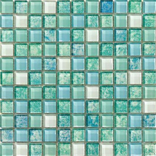 China Mix Crystal Glass Mosaic Wallpaper Decoration Tile China