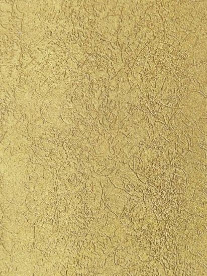 Interior Wall Pillar Shining Gold Art Texture Paint