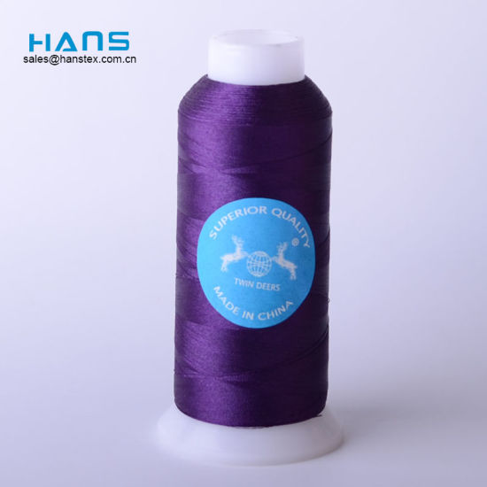 Hans Easy to Use Colorful Machine Embroidery Thread pictures & photos