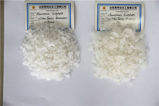 Water Treatment Flake Granular Powder Aluminum Sulfate with Low Price