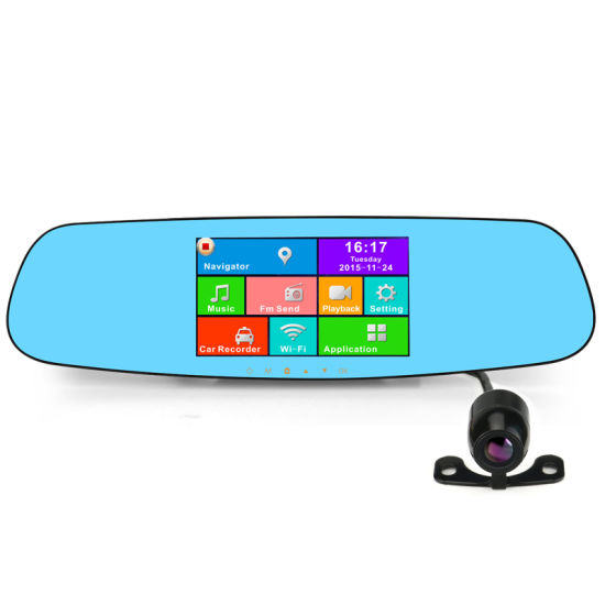 Android 4.4 Quad-Core 1080P Full HD Car DVR with GPS pictures & photos