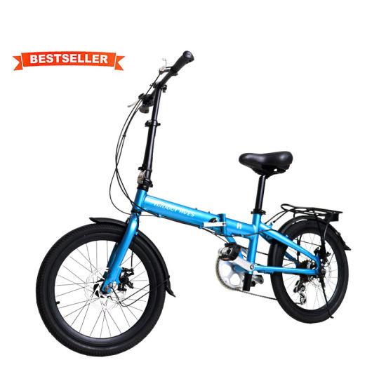 New Aluminum 20 Inch Folding Bicycles 7 Speed City Bike Folding Bike