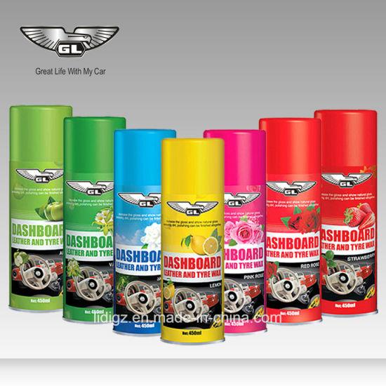 Car Polish Wax Car Dashboard Shine Spray