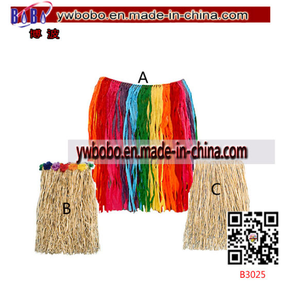 Birthday Party Items Child Tinsel Hula Skirt Promotional Products (B3023)