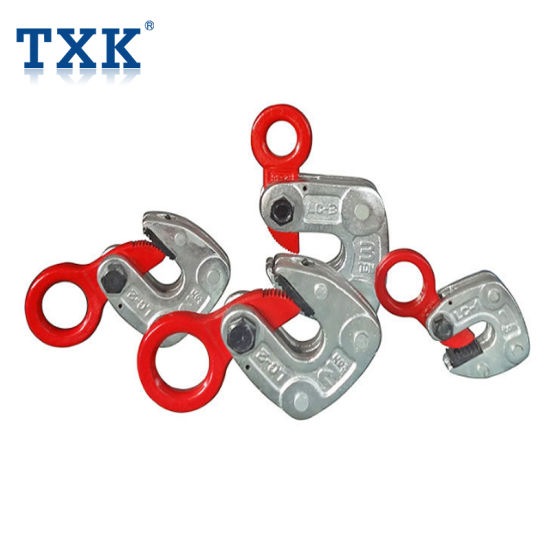 Txk 3t Carbon Steel Horizontal Steel Pipe Lifting Clamp pictures & photos