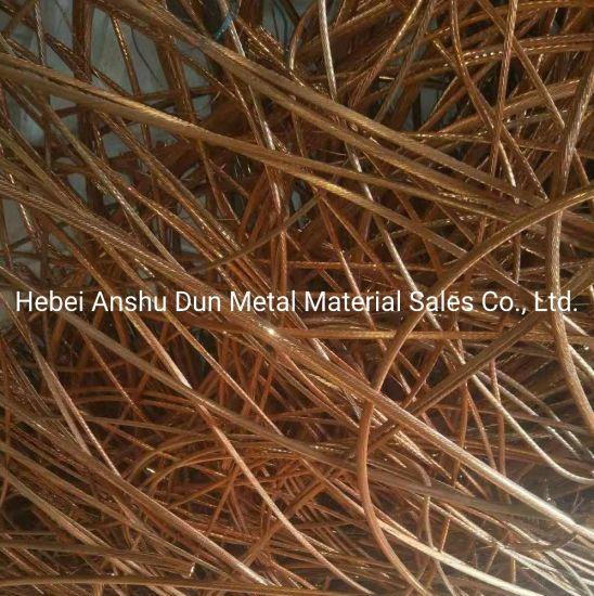 99.95%Purityscrap Copper Wire, High Quality Copper Wire Scrap/Copper Wire Scrap 99.99% Puirty with Lower Price