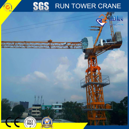 3520-5 Luffing Tower Crane Popular in Korea for Construction