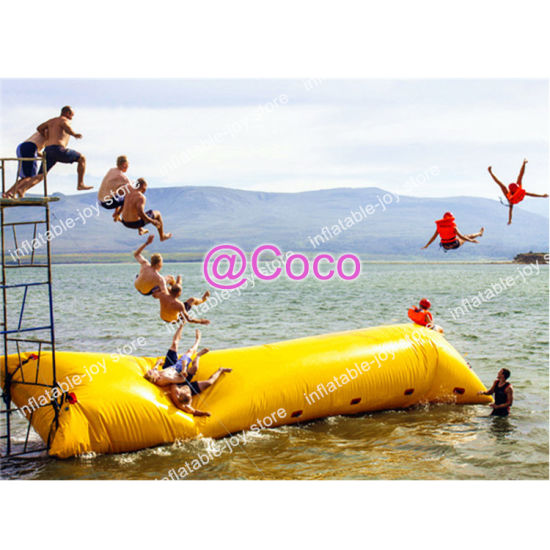 10X3m Inflatable Water Blob, Big Jumping Pillow Blob Catapult Water Toys, Good Quality Air Bag for Sale pictures & photos