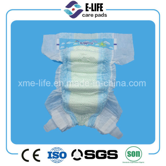 Pearl DOT Non Woven High Quality Baby Diaper with Competitive Price pictures & photos