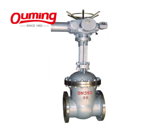 Electric Motorized Slide Electric Actuated Gate Valve