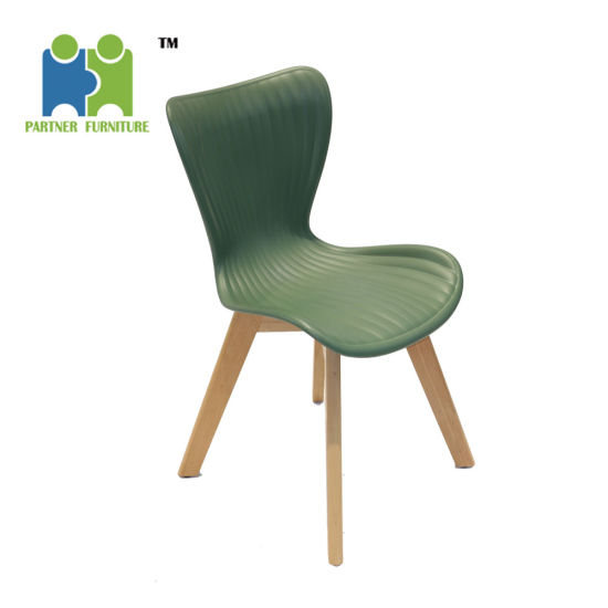 Durian China Classic Solid Beech Wood Plastic Seat Chairs