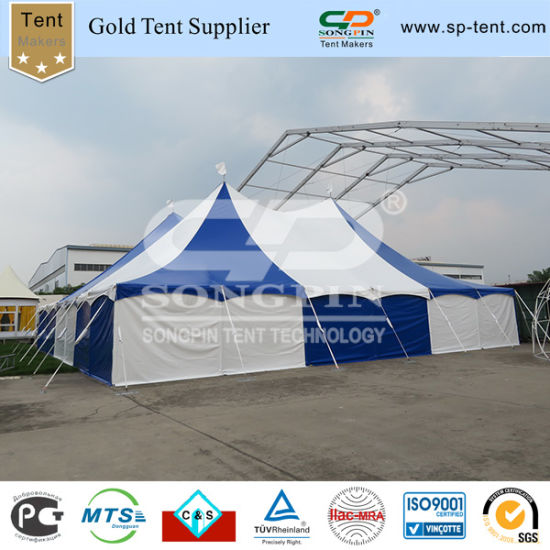 Steel Frame Practical Commercial Pole Tents for Event Wedding