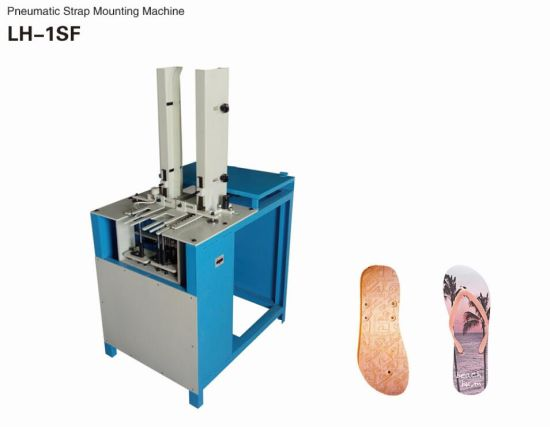 Pneumatic EVA PE Slippers Shoe Making Machine (LH-1SF)