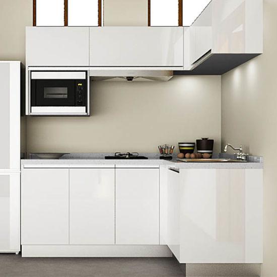 Custom Kitchen Cabinet Prices: China Foshan Cheap Price Custom Kitchen Cabinets Mini