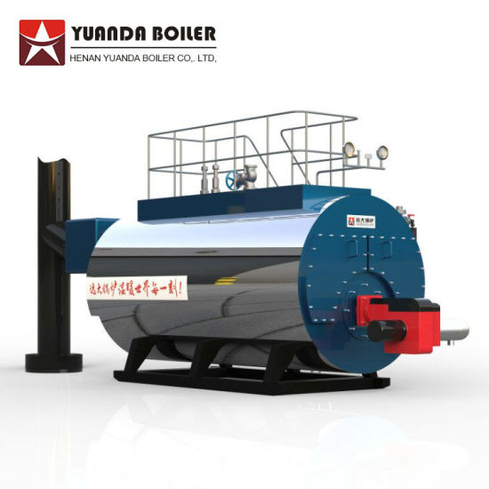 China Wns Oil / Gas Fired Steam Boiler, Baltur Burner, B Grade ...