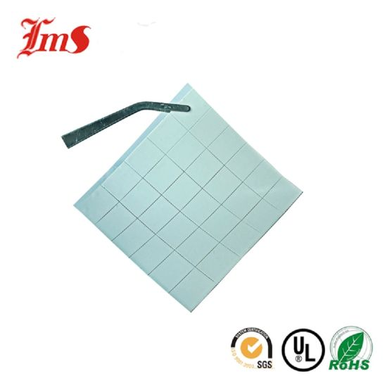 Pass SGS RoHS ISO Heat Silicone Cloth Customized Thermal Pad Silicone Adhesive pictures & photos
