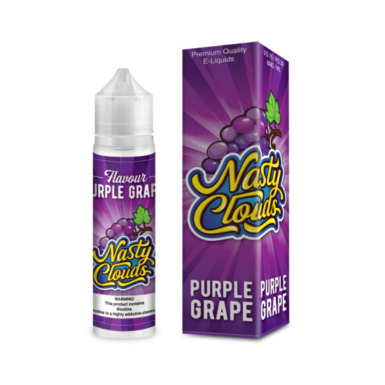 60ml 100ml E Liquid E Juice Vape Juice with Very High-End Package