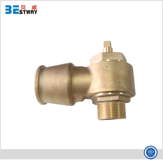 Bronze Brass Self Tapping Screw Down Valve Ferrule with Straps