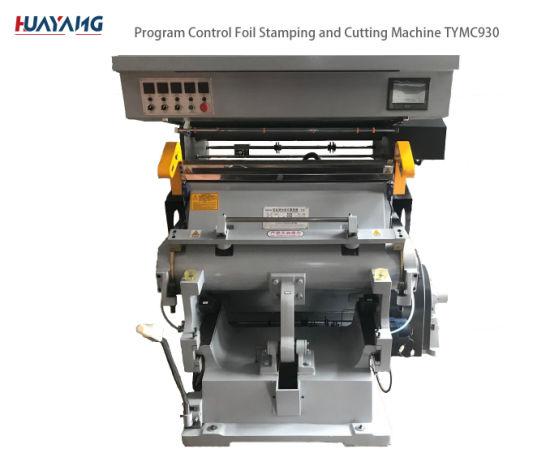 Tymc-930 Semi Automatic Paper Hot Stamping Embossing Machine