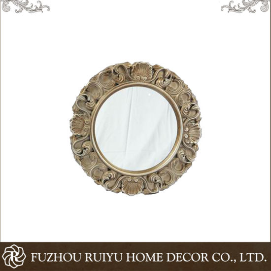 Retro Style and Classical Round Wood Frame