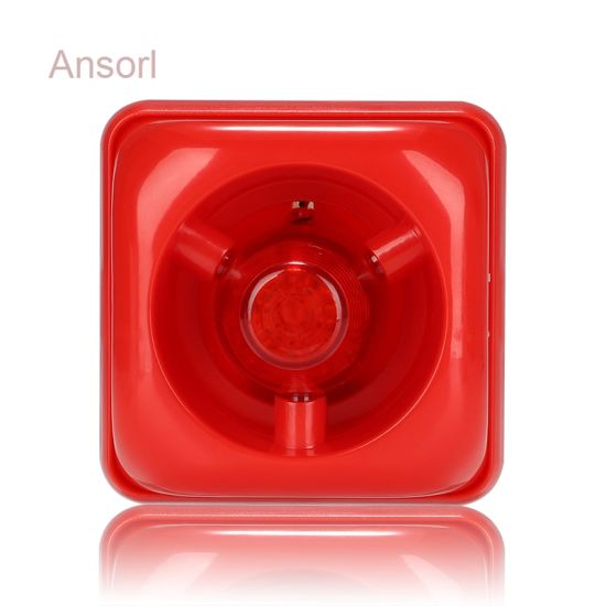 Factory Direct Sales Fire Alarm Sounder with Strobe Lights