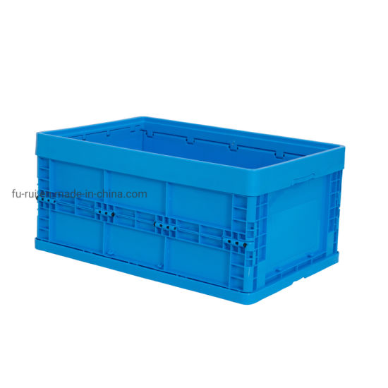 Reinforced Plastic Collapsible Crate Storage Bins Folding pictures & photos
